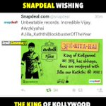 @snapdeal Kuddos and welcome to the elite club #JILLA_KATHTHIBlockbusterYearOfVIJAY http://t.co/RHodcweKZJ