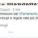+ + + #M5S,altre 3 dimissioni alla Camera + + + Lo annuncia #Iannuzzi http://t.co/27gCUWy0YF