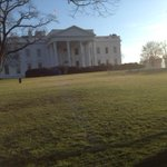 I took this picture of the White House last year. Ask me about a picture of Aso Rock. http://t.co/SIfSeeitt7