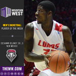 .@UNMHoops Deshawn Delaney has been named the #MWBB Player of the Week: http://t.co/r6J2gznMQ0 http://t.co/b2uoxbtDrS