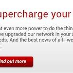 همین چند روز پیش شرکتی که ازش اینترنت میگیرم بهم پیام داد که مجانا سرعت اینترنتم رو از ۶۰ به ۱۰۰ مگ ارتقا میده http://t.co/GD7Zuef9SL