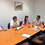 Alcaldesa @karen_rojov y consejeros @SilviaSotoCORE y G. Ormazábal dialogan sobre c. de televigilancia #Antofagasta http://t.co/FZfbuKluuu