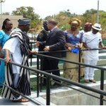 GEJ, S.P. & the Min. of Water at the Commissioning Ceremony of Greater Makurdi Water Supply Scheme #ForwardNigeria http://t.co/7VZa8qvsV9