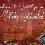Orgullosos de #Málaga os desea ???? Feliz #Navidad ???? http://t.co/7dxxXn5OJB
