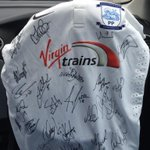 Big thanks to @jwelsh08 for getting this @pnefc shirt signed for a little lad! Good to see u mate http://t.co/YvbvX3k3VV