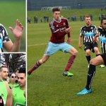 Jonás Gutiérrez has helped Newcastle u21s beat West Ham u21s just 48 days after beating cancer. Inspirational. http://t.co/UaVrRnZOZw