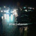 بالصورة :الحادث المروري على اوتوستراد #الجية باتجاه #صيدا نتج عنه جريح http://t.co/e0Fy4q8ybt