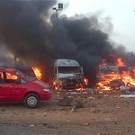 """Bomb blast at bus station kills 20 in Gombe - See more at: http://t.co/NydSZtzXBs http://t.co/AuZDO2jtT2"""""""