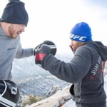 .@JohnDodsonMMA smashing pads on top of the sandia mountains. We are coming for gold in 2015. PC @willfox @BoosterMMA http://t.co/5Wfp6C4P33