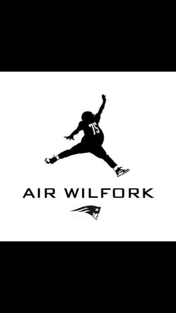 Air Wilfork gonna break the Internet with this one