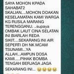 """@FhakimiY: Sama2 kita doakan ???? http://t.co/pWMtt6t43R"" #PrayForPantaiTimur"
