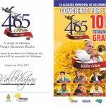 Del 6 al 10 de Enero @alcaldiavpar celebrará los 465 años de Valledupar. @williecolon Por primera vez en Valledupar http://t.co/yvUlfiVUHU