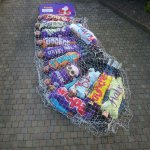 12 guys dress up as a Cadbury selection box for Christmas (Images: @twig84) http://t.co/ItKJJFCRWK