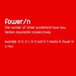Mackem word of the day: fower http://t.co/ztlttSyq96