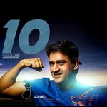 Mersal Mass !! All DHONI fans changed their DP to common DP ! Bleed @DHONIism !! #10YearsofDHONIsm http://t.co/9bhMRmXgAI