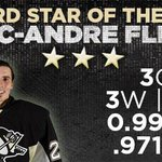 Congrats to Marc-Andre Fleury on earning NHL 'Third Star' of the week honors. Release: http://t.co/ohUbS1PTLV http://t.co/IeqHncgcNw