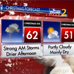 Looking at a stormy start to Christmas Eve, then looking great for #Christmas Day. @wsbtv http://t.co/NYTsTBJLrf