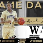 Its #GAMEDAY in Morgantown! @WoffordMBB takes on No. 22/20 West Virginia. Tip at 7:30pm. #ConquerAndPrevail http://t.co/yJKucJrXNW