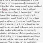 How will your administration tackle corruption? http://t.co/MpqpNGSND0