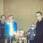 Entrega de la Cesta de Navidad EBG en el sorteo 2014, a la familia....... Baena Benitez. Enhorabuena chicos!! http://t.co/SmZE5RHPdW