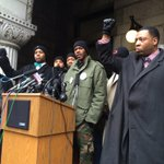 Nate Hamilton, brother of #DontreHamilton now speaking. http://t.co/TamQ0zbWPC
