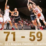 Final from Maples! @bonaldean41s 30-point outburst leads Stanford to victory. #GoStanford http://t.co/PhHQQS6Pov