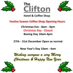 #northeasthour If you are in South Shields over the holidays pop in. Here are our opening times http://t.co/RSCx0wzYR9