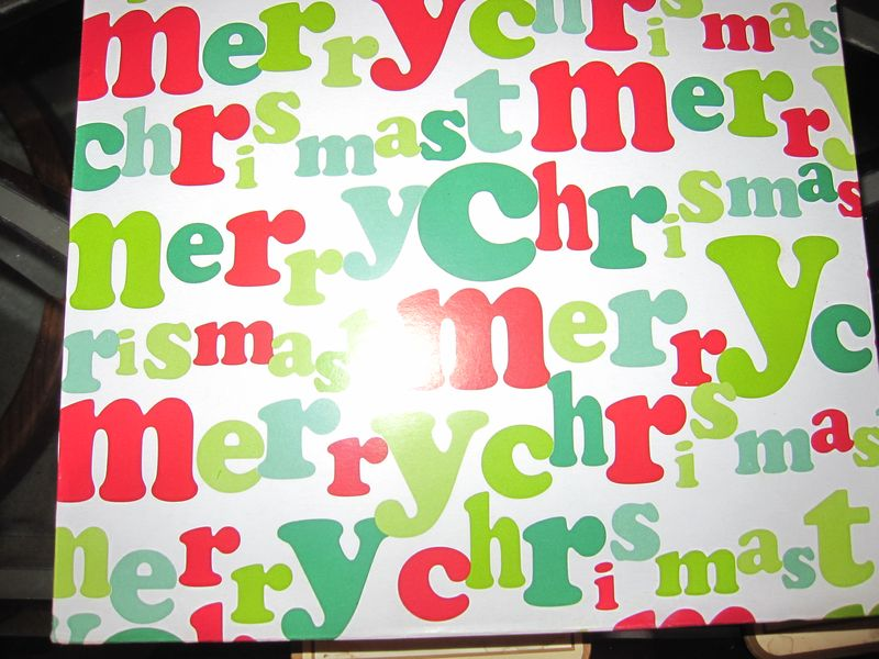 Holiday perfectionists: Don't forget to proofread the wrapping paper! http://t.co/gGbTB6yBcv