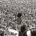 Remembering Joe Cocker: On stage on the last day of Woodstock. Photo by Times photographer Don Hogan Charles. http://t.co/nOBtLYvvFX