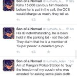 Kenya- X-mas for the Kenyan police courtesy the somali population. Via @Hudheifa_Aden http://t.co/HzvcakUvJM
