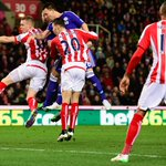 HALF-TIME Stoke 0-1 Chelsea. Terrys 2nd-minute header means Chelsea are going 3pts clear as it stands #STKCHE http://t.co/Ny4dz2o1m4