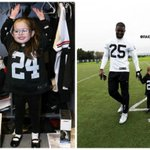 Little girl shares special weekend with the #Oakland @Raiders: http://t.co/s31cagxwfn http://t.co/gQYDQ1UQZw