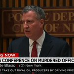 Again, de Blasio urges for protests to cease until funerals for #NYPD officers are over. Watch http://t.co/xEKulRW4E6 http://t.co/tGeiJBMdP9