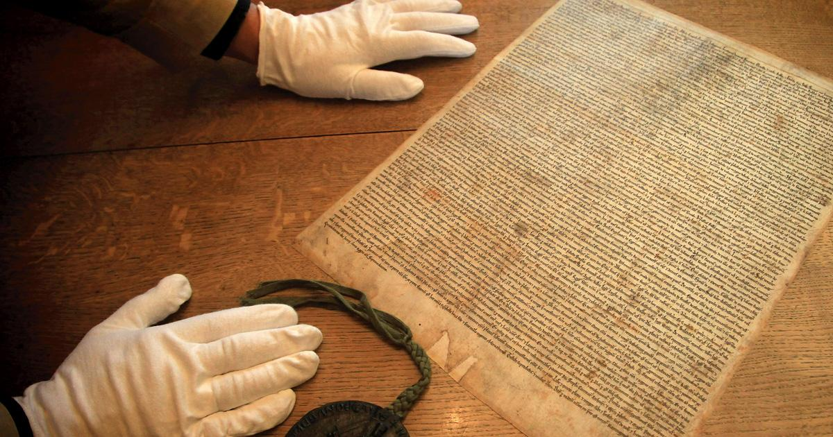 #MagnaCarta could have died entirely, but didn't; UVA Lawyer looks at its 800-year history. http://t.co/usJuMPVl1E http://t.co/rLywIrhcvL