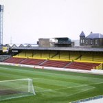 The Shrodells Stand at Watfords Vicarage Road in 1985, the year before it was replaced. Pic Bob Lilliman. http://t.co/AJ0w6GMZbT