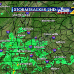 A cold rain across metro Atlanta now. Im looking ahead to storms then clearing in time for Santas arrival on @wsbtv http://t.co/QdCOKJhzyC