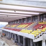 The Stanley Rous Stand, as was, taking shape at Watford in 1986. Pic Bob Lilliman. http://t.co/TwyD552IKv