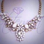 ANGEL £12 Shop here >> http://t.co/RCty64w8B5 #white #statementnecklace #jewellery #kprs #NYEparties http://t.co/UNubcEQOpT
