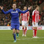 FT: Stoke City 0 2 Chelsea Fc | Goal» Terry and Fabregas . Still Of The League Table 42pts. Well Done @chelseafc ♥. http://t.co/m5kaHFYa1p