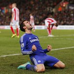 Cesc Fabregas game by numbers vs. Stoke City: 1 goal 1 assist 3 chances created 77% pass accuracy 3 points earned http://t.co/z0ye6bw5PB