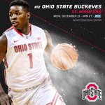 Buckeyes & RedHawks in ONE HOUR! Tip-off set for 6pm on @BigTenNetwork & @971thefan. #GoBucks http://t.co/t0ltKpH3Hg