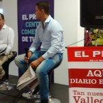 Periodista d @El_Pilon @CarlosMarioDj y el escritor @luiscompetitivo cuentan detalles de la vida musical de Diomedes http://t.co/UwnYsqKyh9