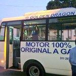 Presentamos a los transportadores una alternativa de buses 100% a gas para la flota del SETP http://t.co/RSfttY6DCm