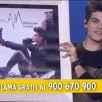 Disco de oro para @AbrahamMateoMus en directo #GalaInfanciaTVE por 20.000 discos de Who I Am http://t.co/VGa7b2XWy8 http://t.co/EXX3F4dHNH