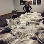 85 pounds of marijuana. Likely bought in Colorado and headed to Tulsa. More than $400k street value. @ 10 on @NEWS9 http://t.co/o1AfMm62mS