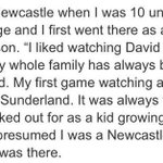 This is for everyone who thinks Adam Johnson is a Newcastle fan. Im talking about you @SkySportsNewsHQ. #safc http://t.co/0nGT0FyNpV