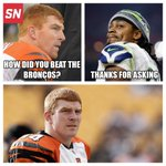Andy Dalton asked the wrong person for advice on how to beat the Broncos... http://t.co/leFwig9yj2