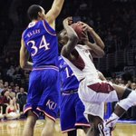 """With this effort at Temple I wouldnt rule out a """"surprise"""" practice tonight when KU returns to Lawrence. Pic by KU http://t.co/735bhO43Hy"""