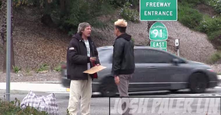 Must watch! Homeless man given $100 and secretly followed to see how he would spend it http://t.co/U8yS7zvLqu http://t.co/25lTGwkBTb