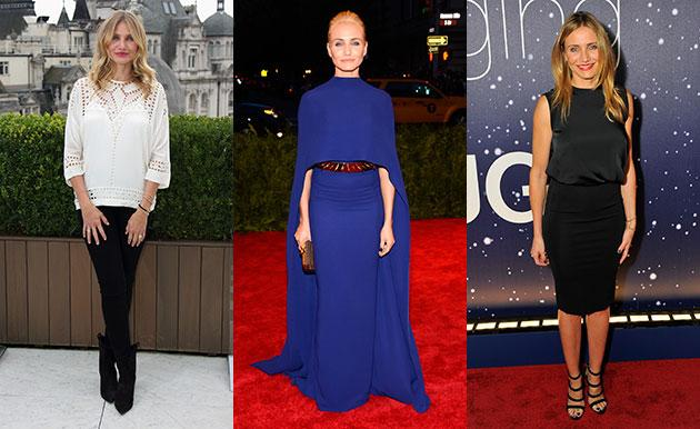 Following the news of her engagement, @hellofashion_uk looks at Cameron Diaz's top style hits: